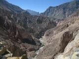 Cotahuasi canyon view