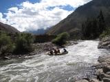 Rafting the Urubamba near Ollantaytambo