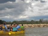 Giraffes watching our raft/Jon Hanson