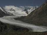 Dzong Durong glacier