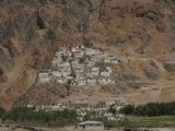 Karsha gompa from the river