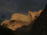 Mountain light on the Nun-Kun massif